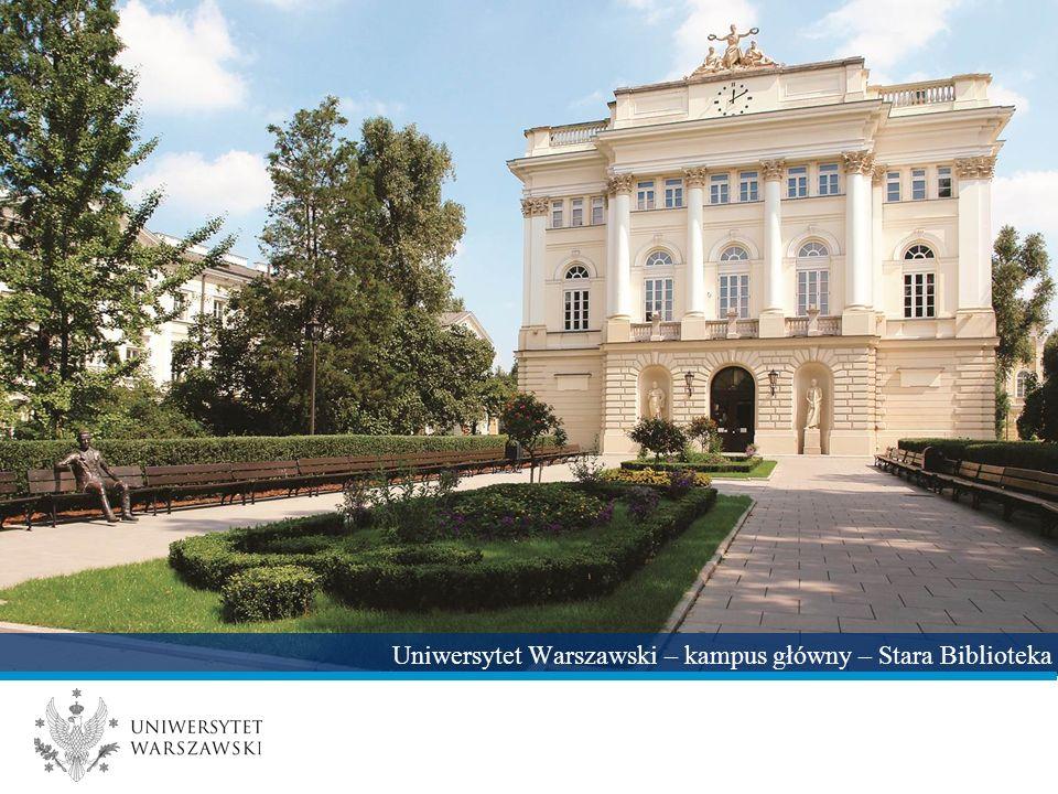 Uniwersytet Warszawski – kampus główny – Stara Biblioteka