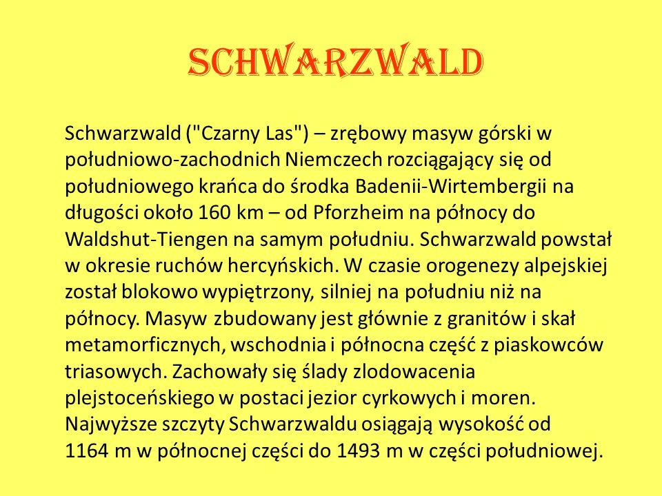 Schwarzwald Schwarzwald (