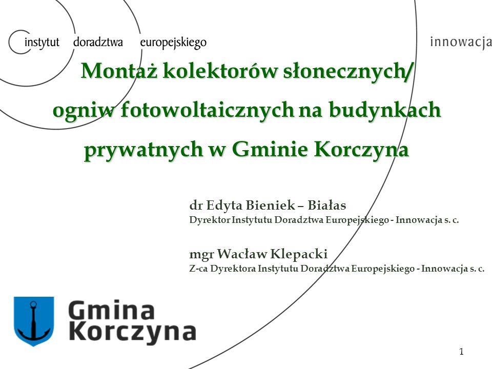 INSTYTUT DORADZTWA EUROPEJSKIEGO – INNOWACJA S.C.