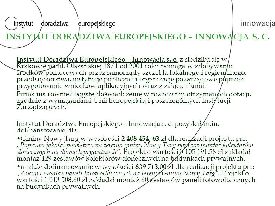 Gminy Kościelisko w wysokości 3 524 561,41 zł dla realizacji projektu pn.:,,Czyściej i taniej w Gminie Kościelisko .