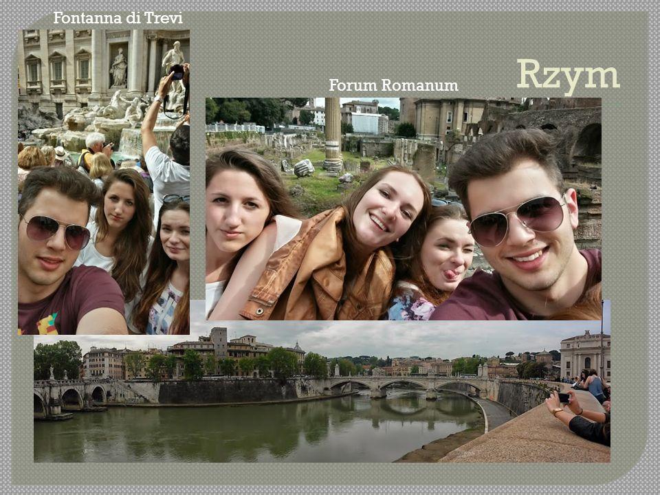 Forum Romanum Fontanna di Trevi
