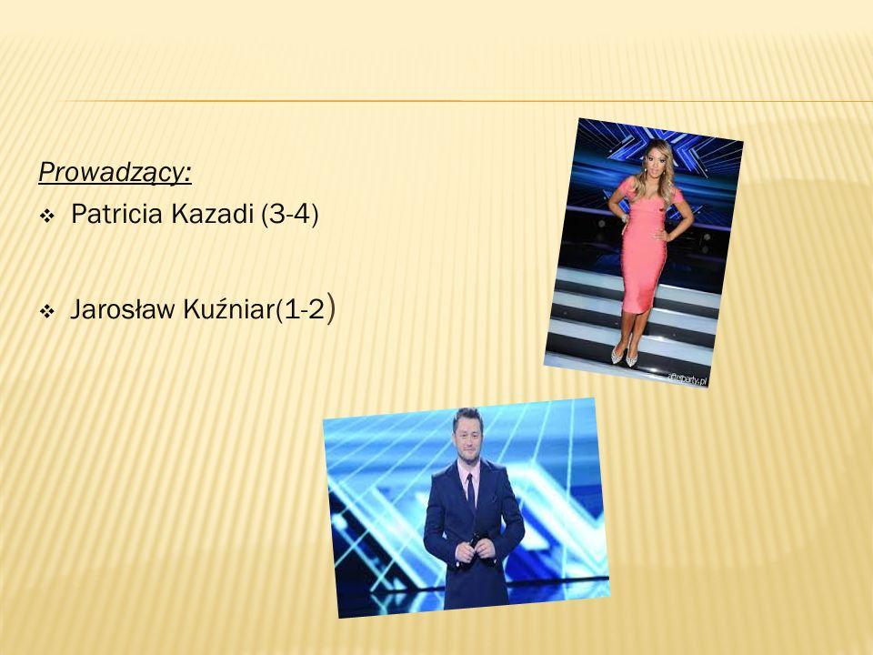 Prowadzący:  Patricia Kazadi (3-4)  Jarosław Kuźniar(1-2 )