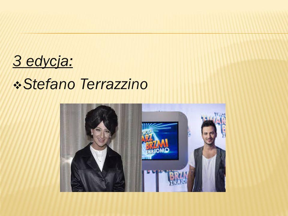 3 edycja:  Stefano Terrazzino