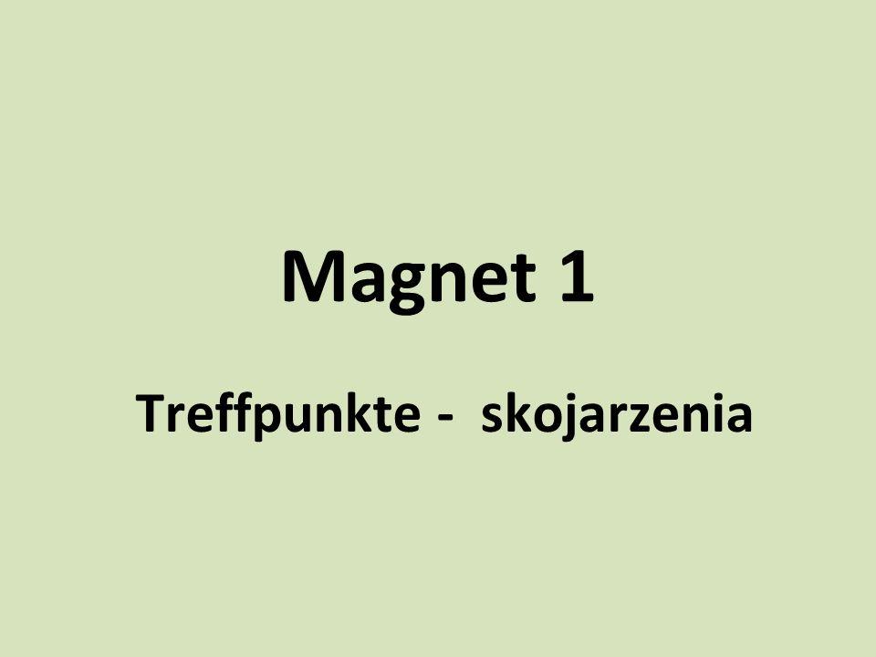 Magnet 1 Treffpunkte - skojarzenia