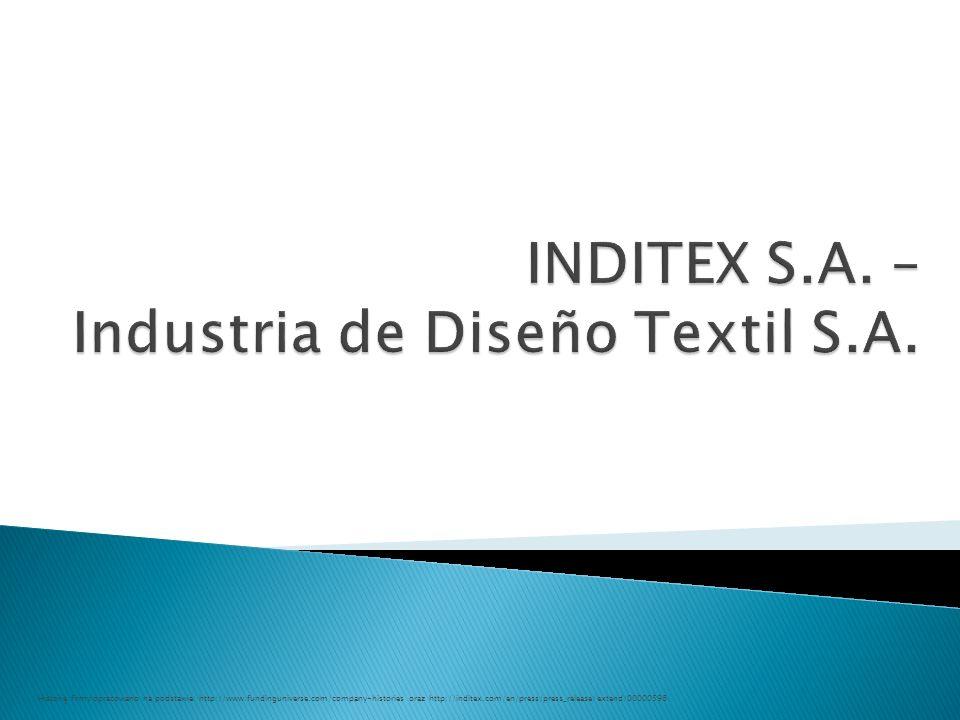  Tradycyjny model działania w branży odzieżowej wygląda następująco:  Natomiast model Inditexu można by zobrazować następująco: 42