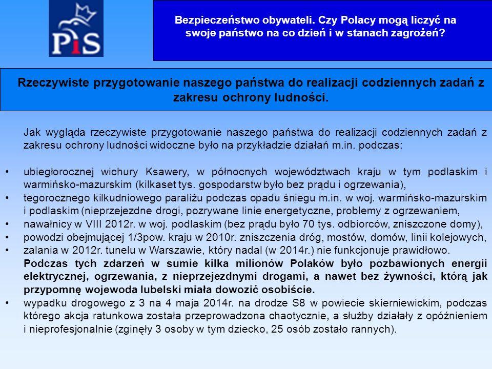 Sprawność służb ratowniczych w tym pracowników Centrów Powiadamiania Ratunkowego, podczas działań z 3 na 4 maja 2014r.