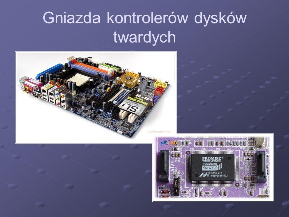 Kości pamięci operacyjnej Różnego rodzaju urządzenia i bloki funkcjonalne komputera, służące do przechowywania danych i programów (systemu operacyjnego oraz aplikacji).