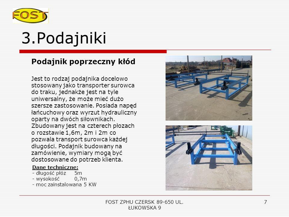 FOST ZPHU CZERSK 89-650 UL. ŁUKOWSKA 9 6 2.Prasa do klejenia drewna -nie zajmuje dużo miejsca, -jest łatwa w obsłudze pozwala kleić elementy do 1,2 me