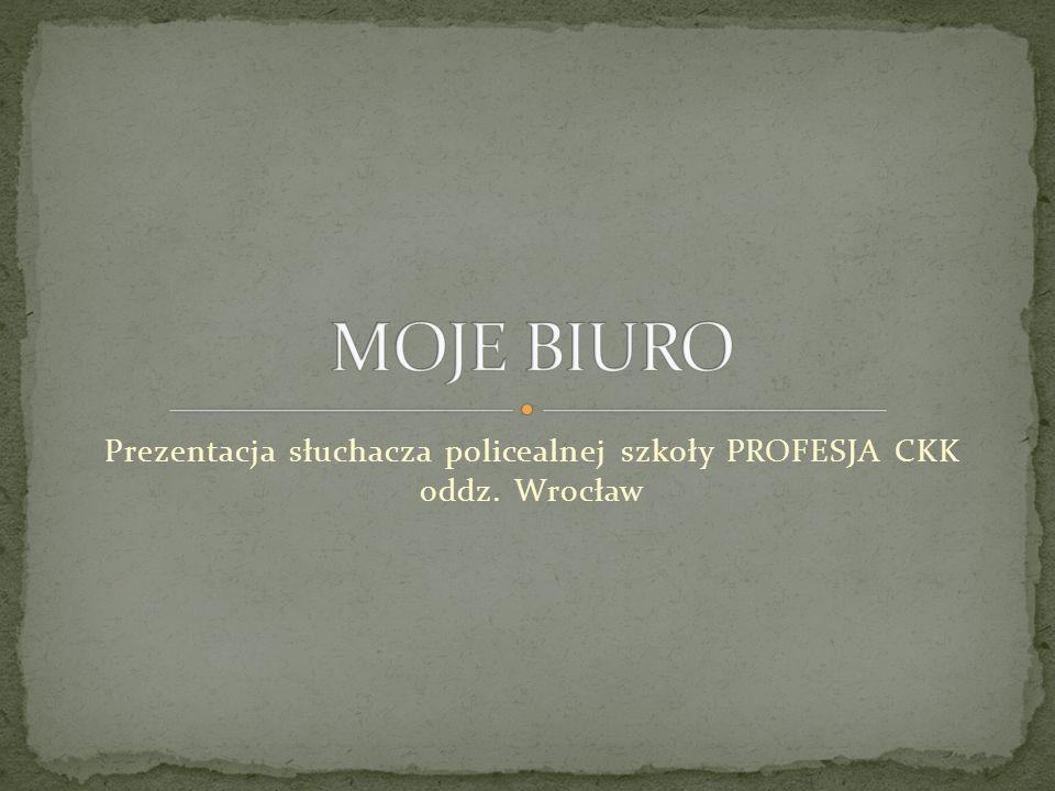 Prezentacja słuchacza policealnej szkoły PROFESJA CKK oddz. Wrocław