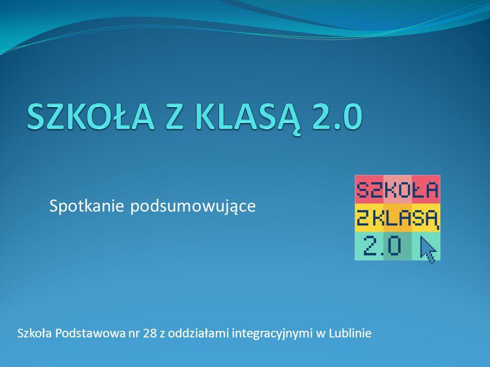 Szkoła Podstawowa nr 28 z oddziałami integracyjnymi w Lublinie Spotkanie podsumowujące