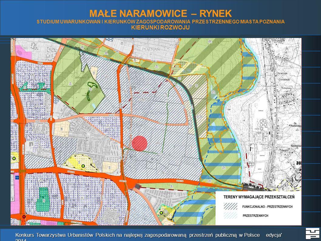 Konkurs Towarzystwa Urbanistów Polskich na najlepiej zagospodarowaną przestrzeń publiczną w Polsce edycja 2014 MAŁE NARAMOWICE - RYNEK