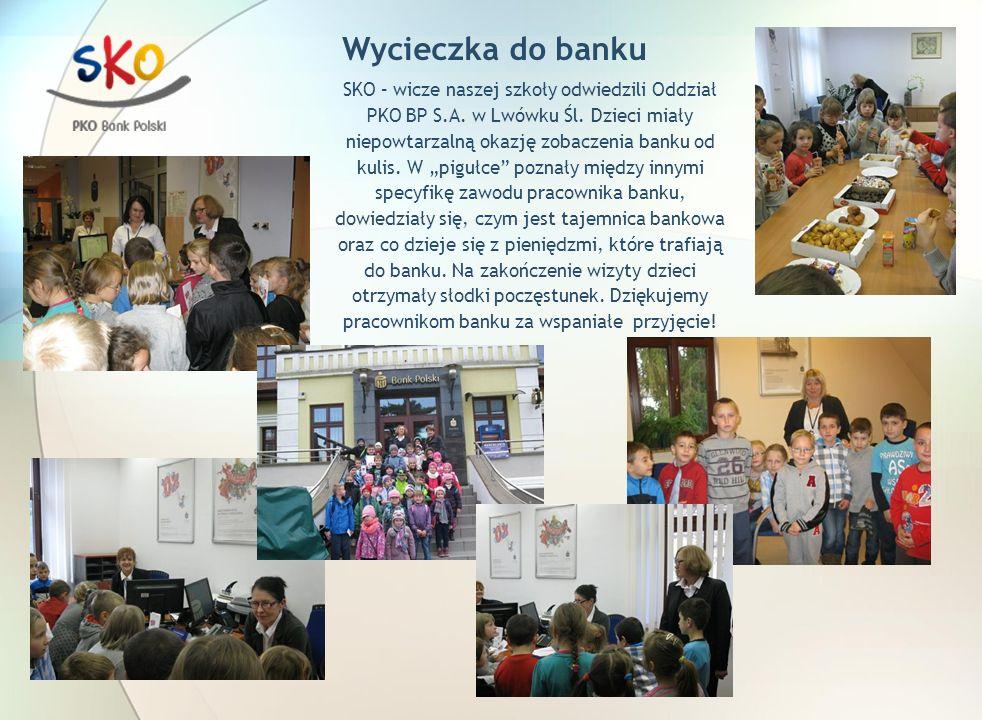 Wycieczka do banku SKO – wicze naszej szkoły odwiedzili Oddział PKO BP S.A.