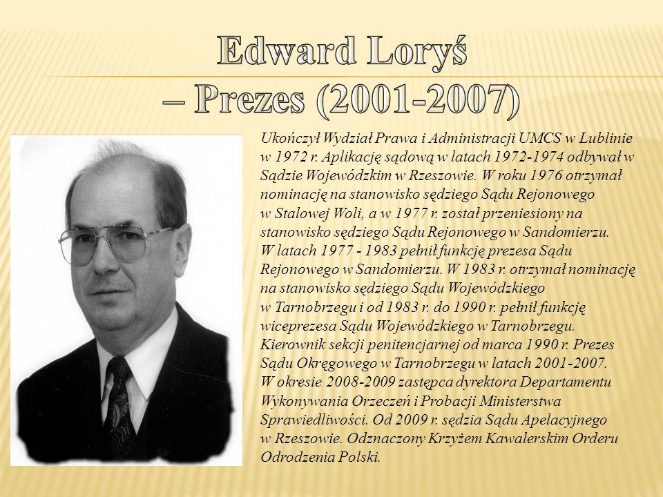 Ukończył Wydział Prawa i Administracji UMCS w Lublinie w 1972 r. Aplikację sądową w latach 1972-1974 odbywał w Sądzie Wojewódzkim w Rzeszowie. W roku