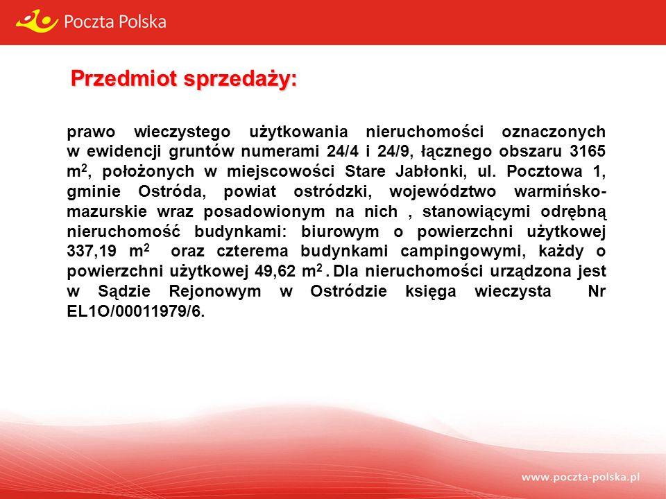 Przedmiot sprzedaży: MiejscowośćStare Jabłonki, gm.