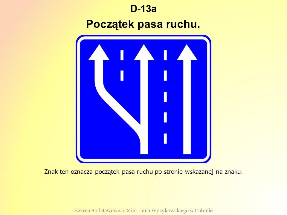 D-13a Szkoła Podstawowa nr 8 im.