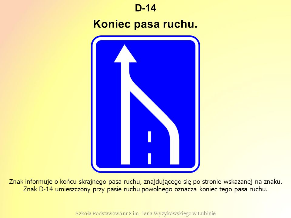 D-14 Szkoła Podstawowa nr 8 im.