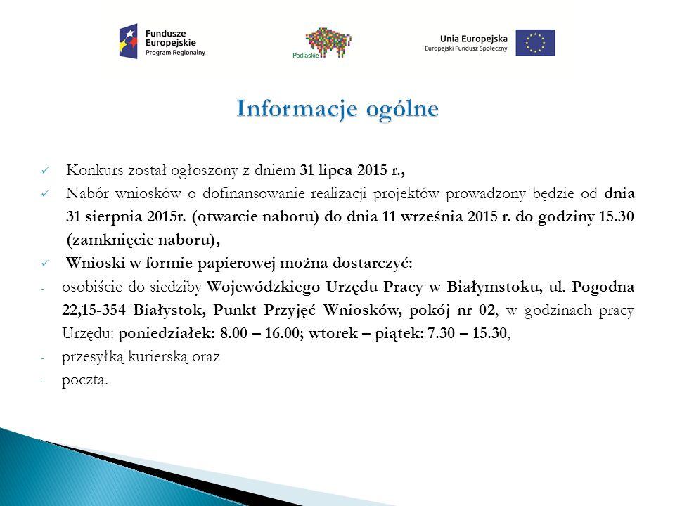 Wniosek o dofinansowanie projektu konkursowego składany jest w dwóch formach: w formie dokumentu elektronicznego za pośrednictwem Generatora Wniosków Aplikacyjnych Europejskiego Funduszu Społecznego w ramach Systemu Obsługi Wniosków Aplikacyjnych Regionalnego Programu Operacyjnego Województwa Podlaskiego na lata 2014 - 2020 (GWA EFS w ramach SOWA RPOWP, aplikacja dostępna jest pod adresem https://rpo.wrotapodlasia.pl/pl/jak_skorzystac_z_p rogramu/pobierz_wzory_dokumentow/generator-wnioskow-aplikacyjnych-efs.htmlhttps://rpo.wrotapodlasia.pl/pl/jak_skorzystac_z_p rogramu/pobierz_wzory_dokumentow/generator-wnioskow-aplikacyjnych-efs.html oraz w formie papierowej wydrukowanej z systemu GWA EFS w ramach SOWA RPOWP, opatrzonej podpisem osoby uprawnionej/osób uprawionych do złożenia wniosku (w dwóch egzemplarzach) wraz z Potwierdzeniem Przesłania do IZ RPOWP Elektronicznej Wersji Wniosku O Dofinansowanie W Ramach Regionalnego Programu Operacyjnego Województwa Podlaskiego na lata 2014-2020.