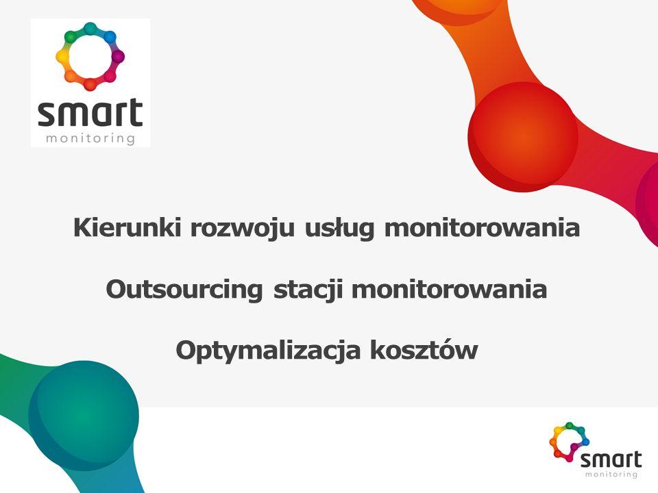 Kierunki rozwoju usług monitorowania Outsourcing stacji monitorowania Optymalizacja kosztów