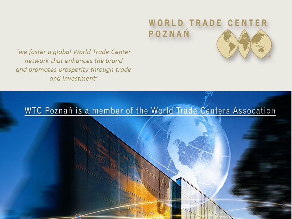 Siedziba WTCA w Nowym Jorku World Trade Center Association powstało w 1970 roku w Nowym Jorku Organizacja zrzesza 325 oddziałów w 95 krajach na świecie.