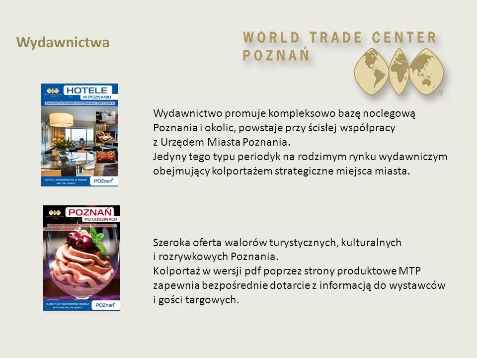 Wydawnictwo promuje kompleksowo bazę noclegową Poznania i okolic, powstaje przy ścisłej współpracy z Urzędem Miasta Poznania. Jedyny tego typu periody