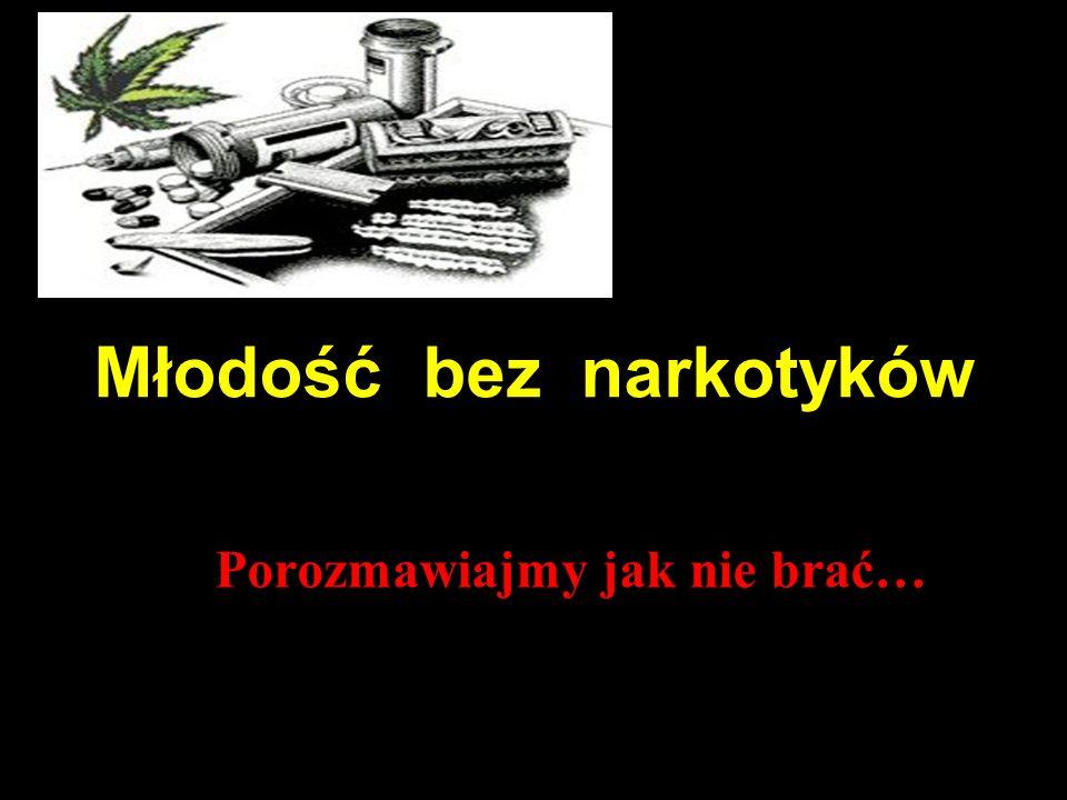 Młodość bez narkotyków Porozmawiajmy jak nie brać…