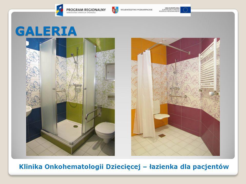 GALERIA Klinika Onkohematologii Dziecięcej – łazienka dla pacjentów