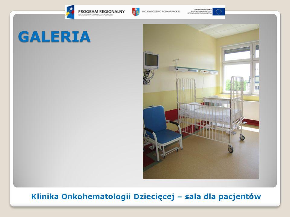 GALERIA Klinika Onkohematologii Dziecięcej – sala dla pacjentów