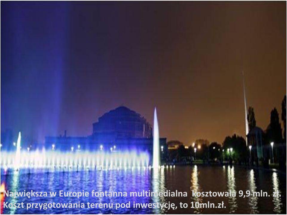 Według danych policji, podczas czwartkowego, premierowego pokazu multimedialnego, na wrocławską Pergolę przy Hali Stulecia przybyło około 40 tysięcy widzów