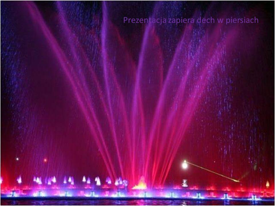 Największa w Europie fontanna multimedialna kosztowała 9,9 mln.