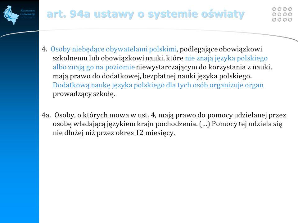 Your site here LOGO art. 94a ustawy o systemie oświaty 4.