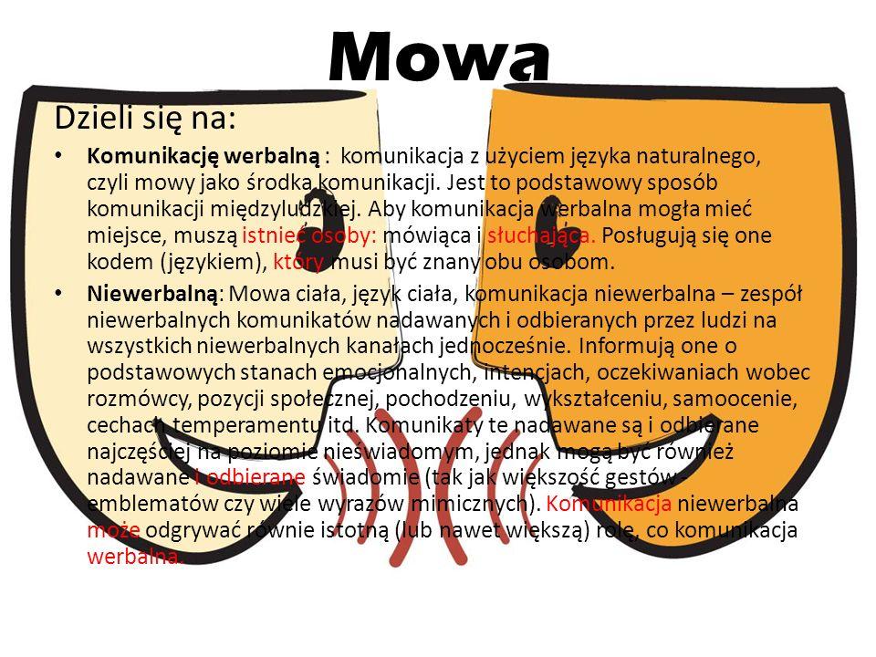 Przez pismo Pismo – system umownych znaków, za pomocą których można utrwalić język mówiony.
