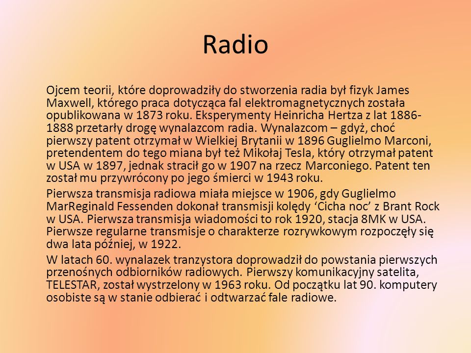 Polski odbiornik radiowy Pionier