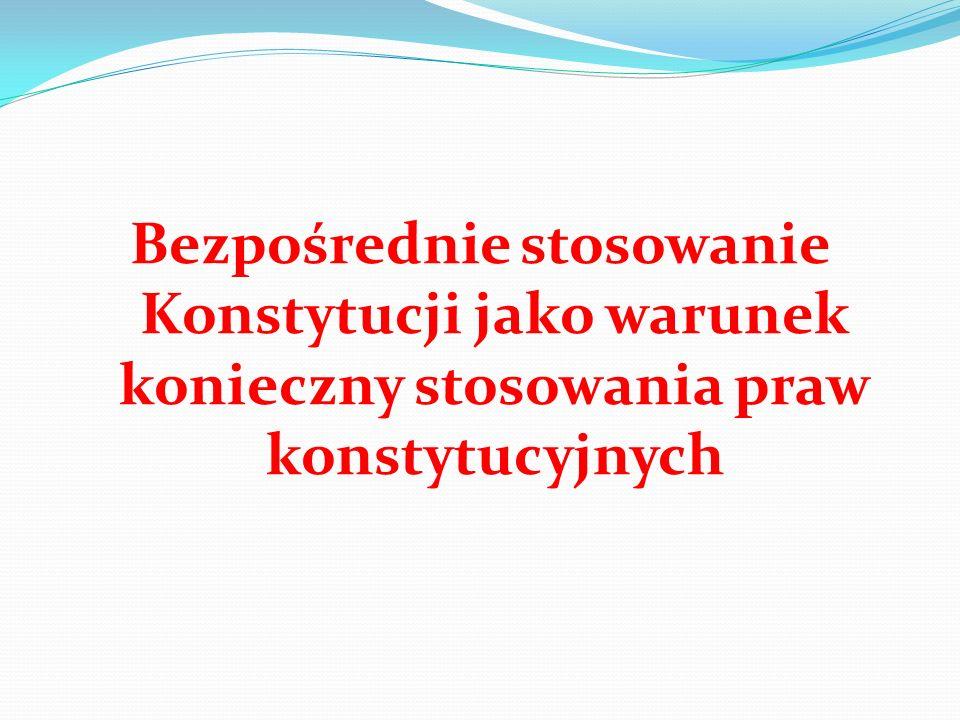 Wyrok TK z 18 V 2004 r., SK 38/03 – cd.