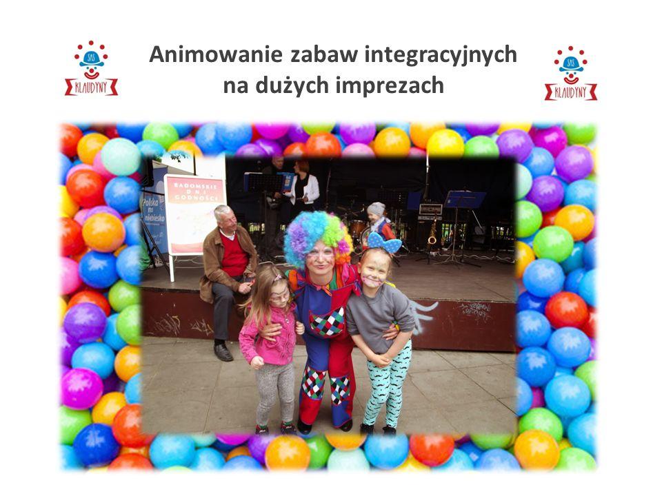 Animowanie zabaw integracyjnych na dużych imprezach