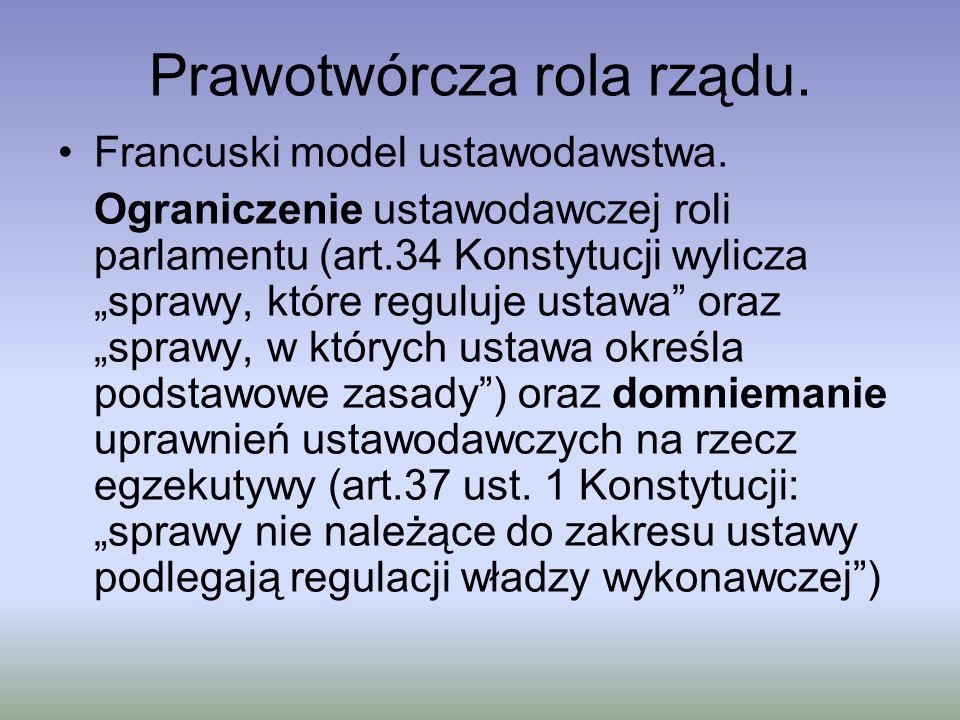 Prawotwórcza rola rządu 4.