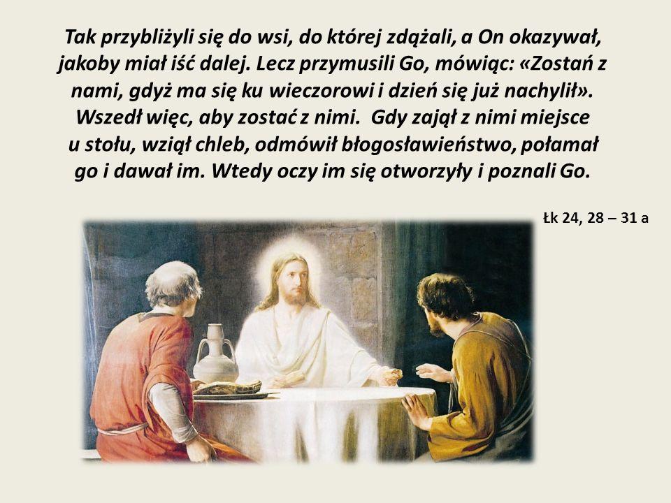 W tej samej godzinie wybrali się i wrócili do Jerozolimy.