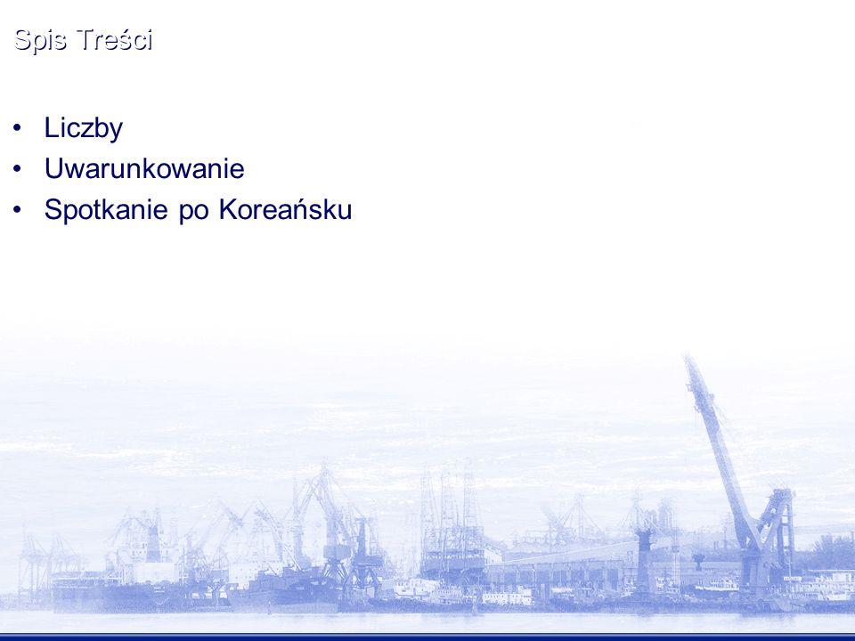 Spis Treści Liczby Uwarunkowanie Spotkanie po Koreańsku