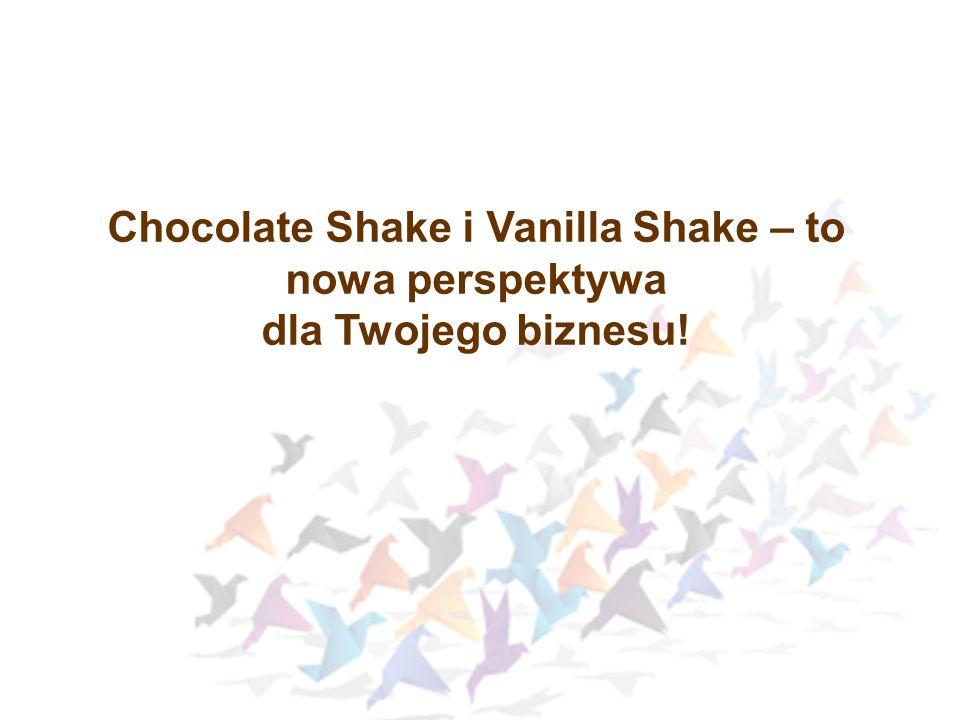 Chocolate Shake i Vanilla Shake – to nowa perspektywa dla Twojego biznesu!
