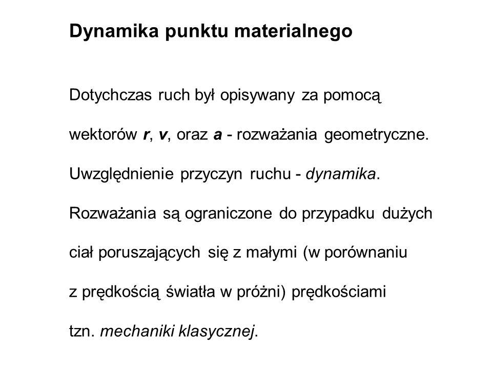 F = ma F wyp = ma