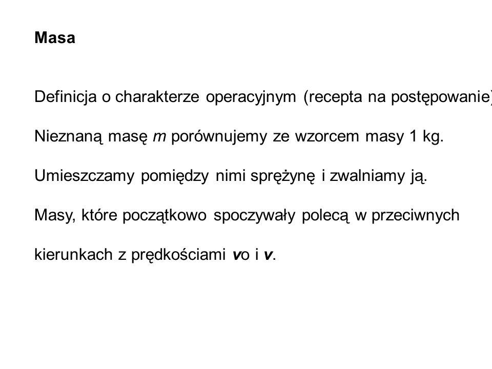 Masa Definicja o charakterze operacyjnym (recepta na postępowanie).
