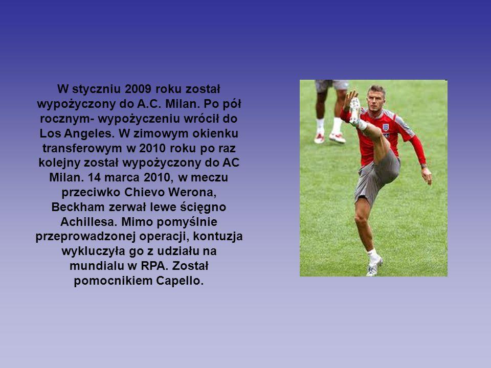 W styczniu 2009 roku został wypożyczony do A.C. Milan. Po pół rocznym- wypożyczeniu wrócił do Los Angeles. W zimowym okienku transferowym w 2010 roku