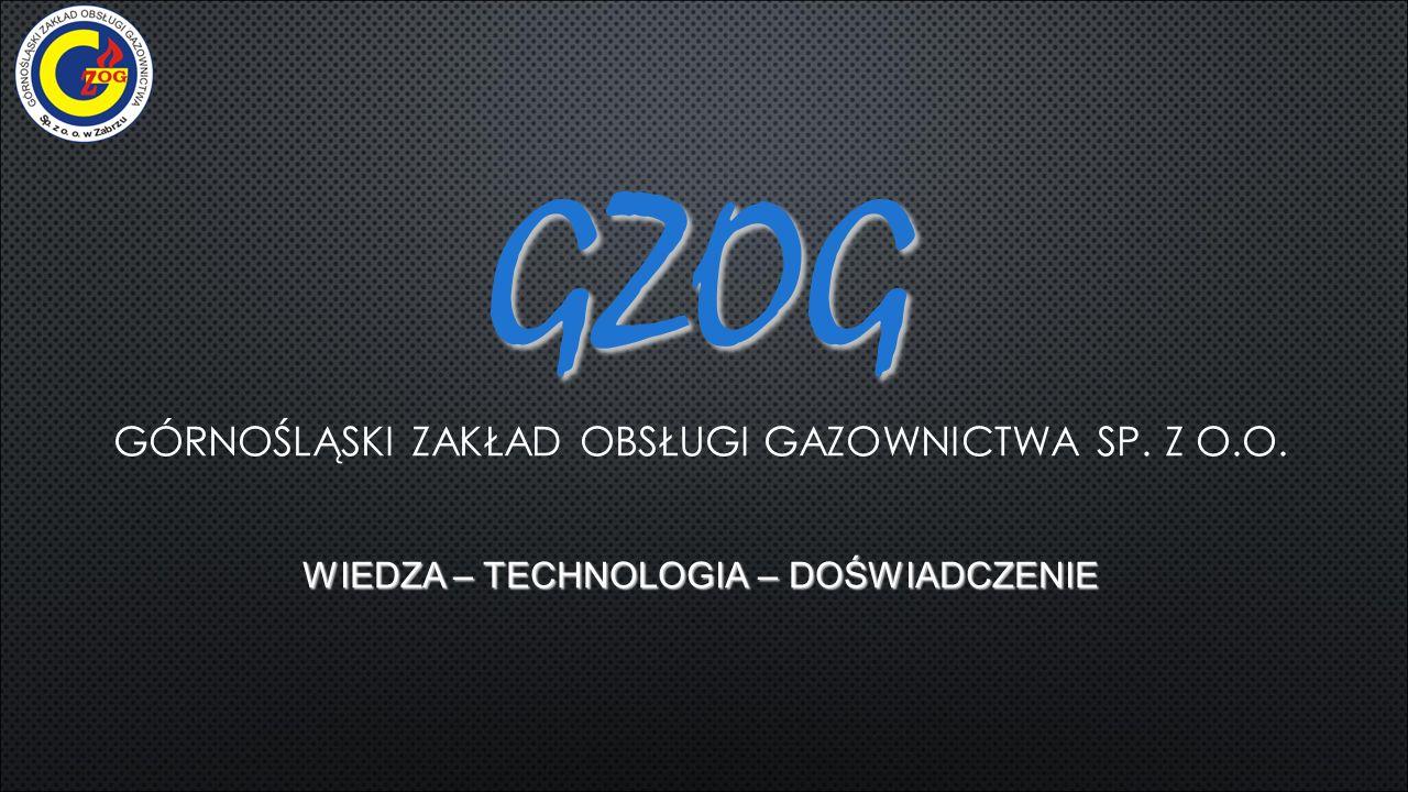 KIM JESTEŚMY Górnośląski Zakład Obsługi Gazownictwa Sp.