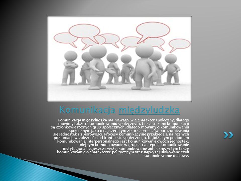 Komunikacja społeczna to przepływ informacji między grupami lub jednostkami zajmującymi w określonej hierarchii społecznej lub strukturze organizacyjnej zbliżone lub takie samo miejsce.