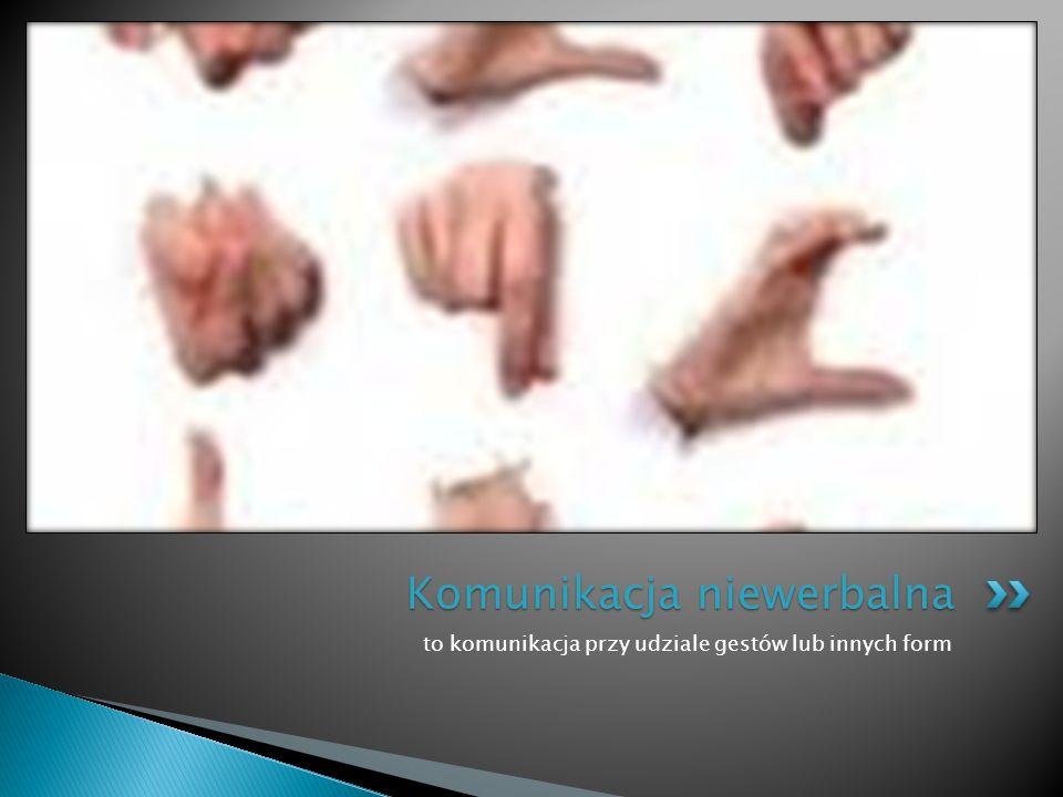  Każde słowo oraz gest w procesie komunikacyjnym ma wielkie znaczenie.