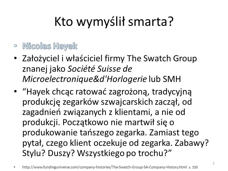 Kto wymyślił smarta? 2