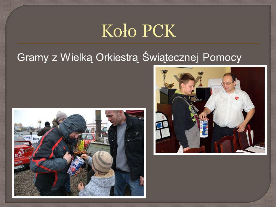 Koło PCK Gramy z Wielką Orkiestrą Świątecznej Pomocy