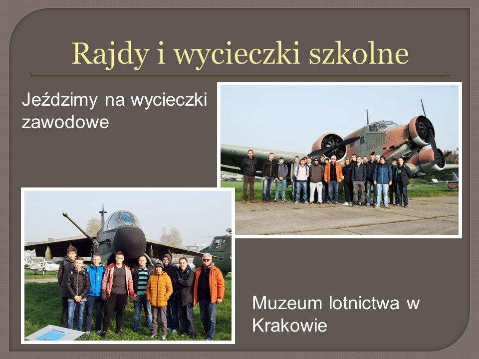 Rajdy i wycieczki szkolne Muzeum lotnictwa w Krakowie Jeździmy na wycieczki zawodowe