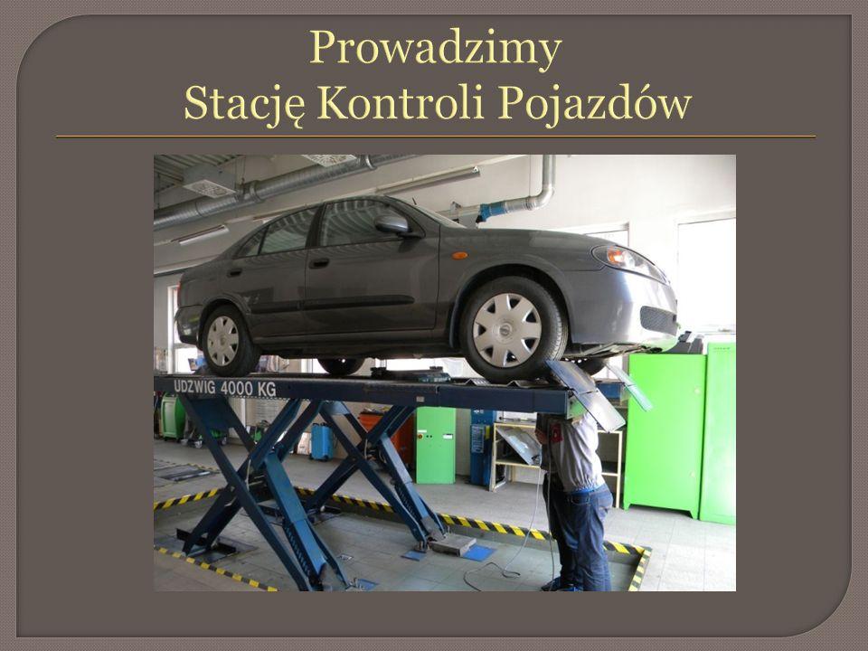 Prowadzimy Stację Kontroli Pojazdów