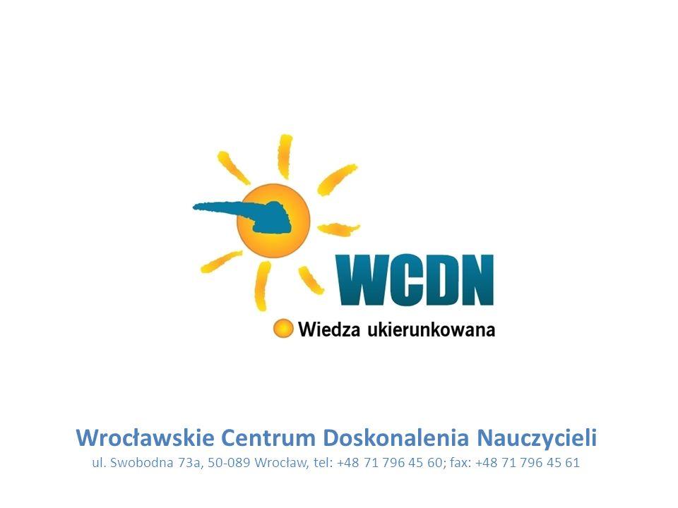 Wrocławskie Centrum Doskonalenia Nauczycieli ul.