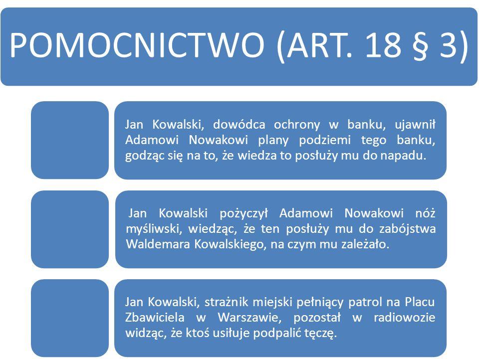 POMOCNICTWO (ART.